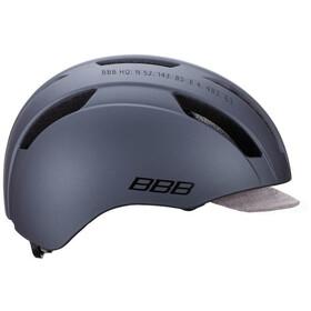 BBB Metro BHE-55 Casco, matte dark grey